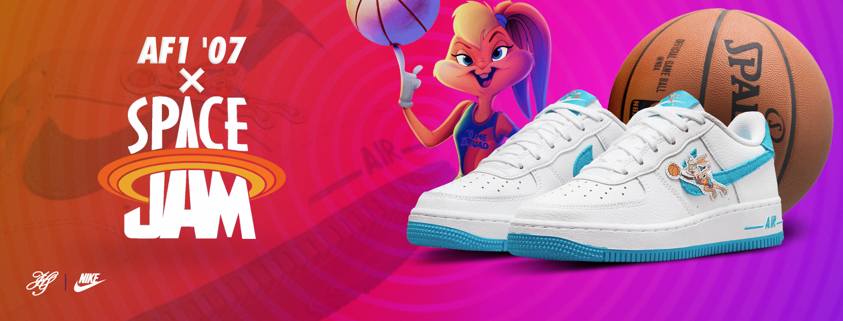 NIKE AIR FORCE 1 LOW X SPACE JAM
