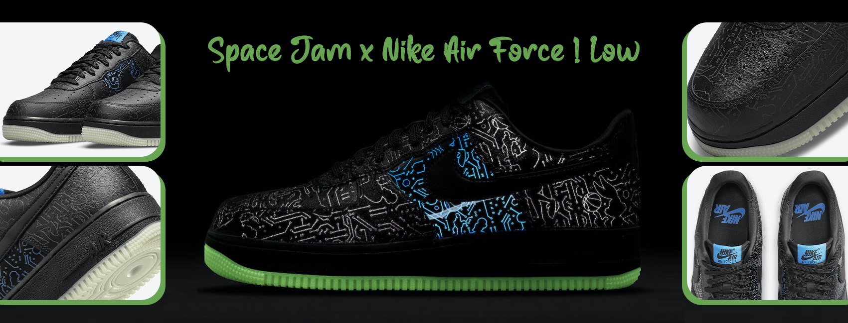 NIKE AIR FORCE 1 '07 X SPACE JAM: A NEW LEGACY