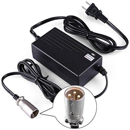 Cargador batería gel 36V 1.5 Ah