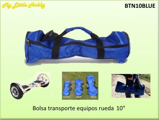 "Bolsa de mano 10"" Azul"