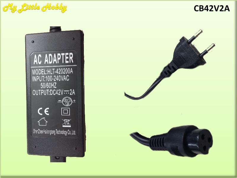 Cargador Baterias 42V 2A
