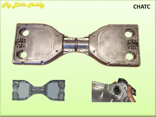 Chasis Aluminio TC (excepto TC145)