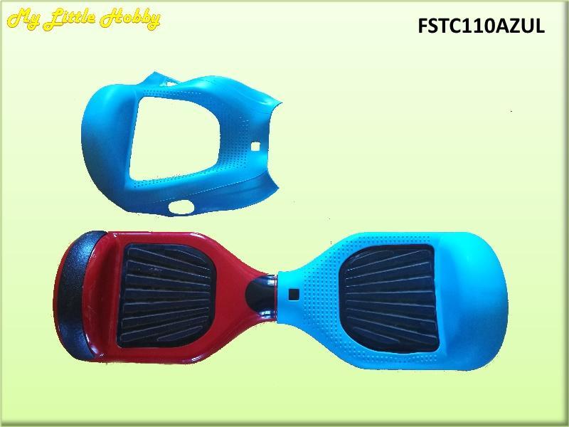 Protector TC110 Silicona Azul