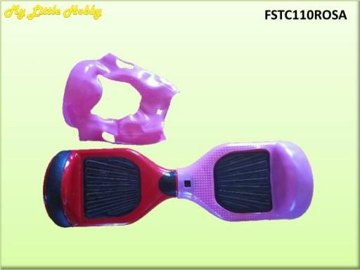 Protector TC110 Silicona Rosa