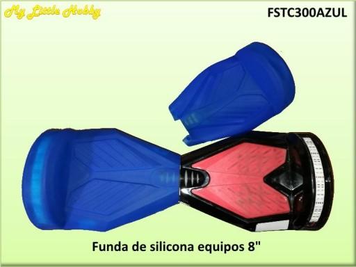 protector TC300 Silicona Azul