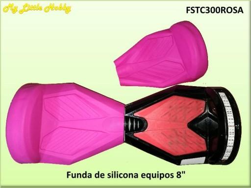 protector TC300 Silicona Rosa