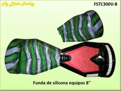 protector TC300 Silicona Verde blanco