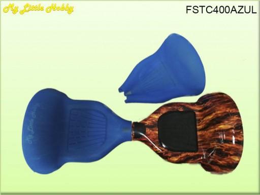 Protector TC400 Silicona Azul