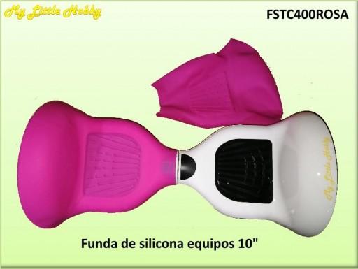 protector TC400 Silicona Rosa