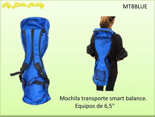 "Mochila patin rueda 6.5"" Azul"