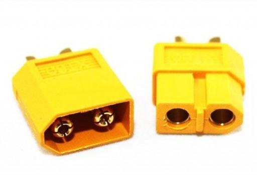Conector de batería litio a patín eléctrico
