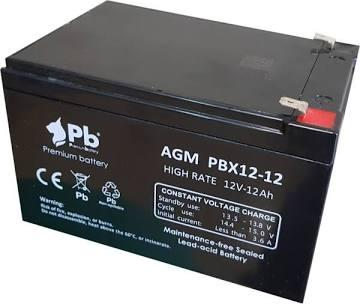 Batería gel 12V 12 Ah