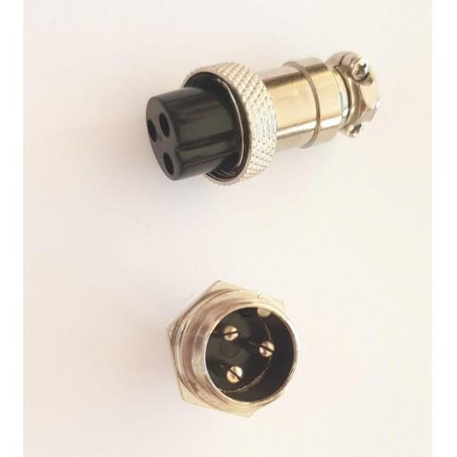 Conector carga patinete eléctrico 16