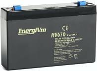 Bateria de gel 6V 7Ah