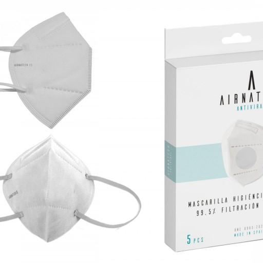 Pack 100 Airnatech Plus 99,90% BLANCA *PORTE GRATIS [3]