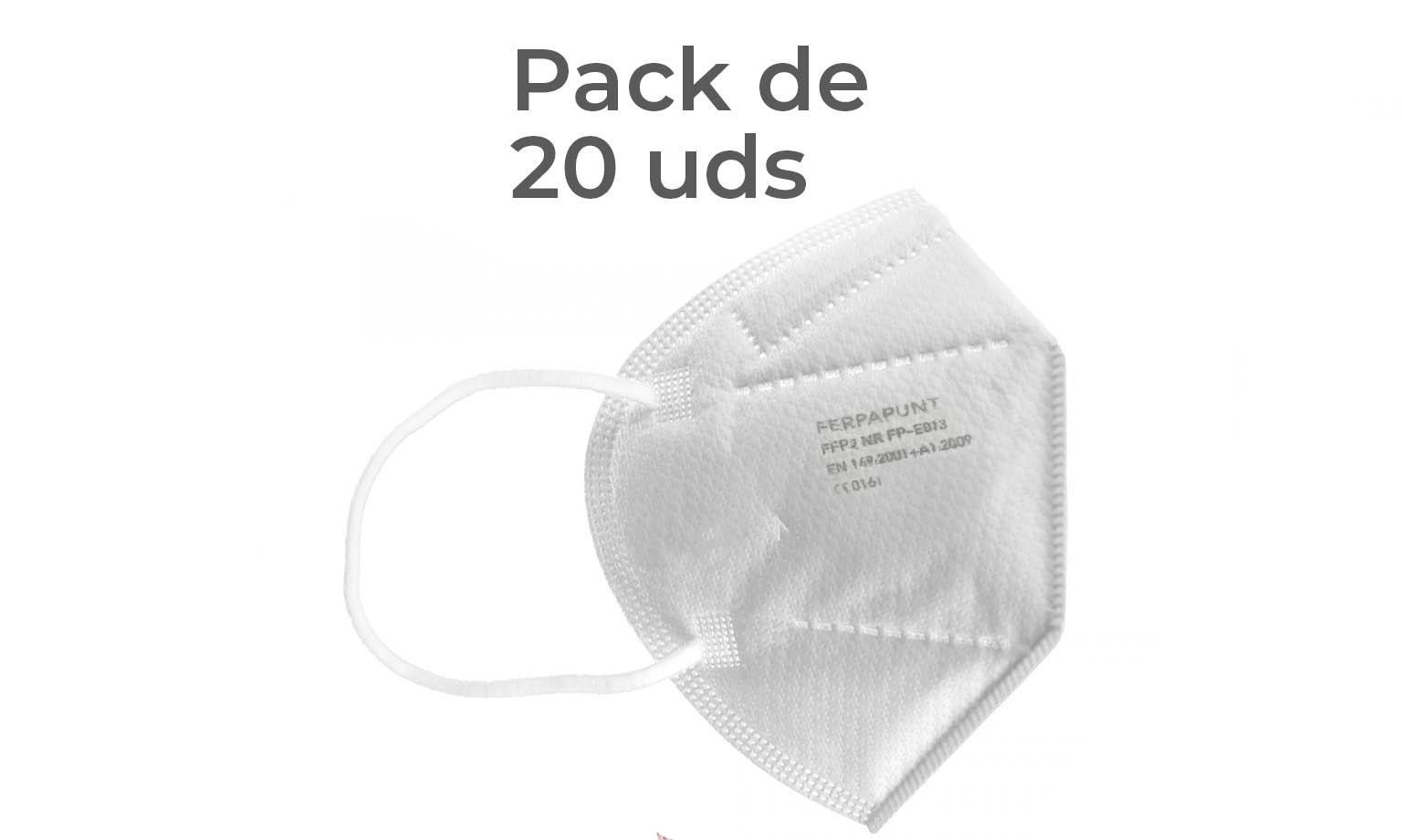 FFP2 NR Ferpa Punt Pack 20