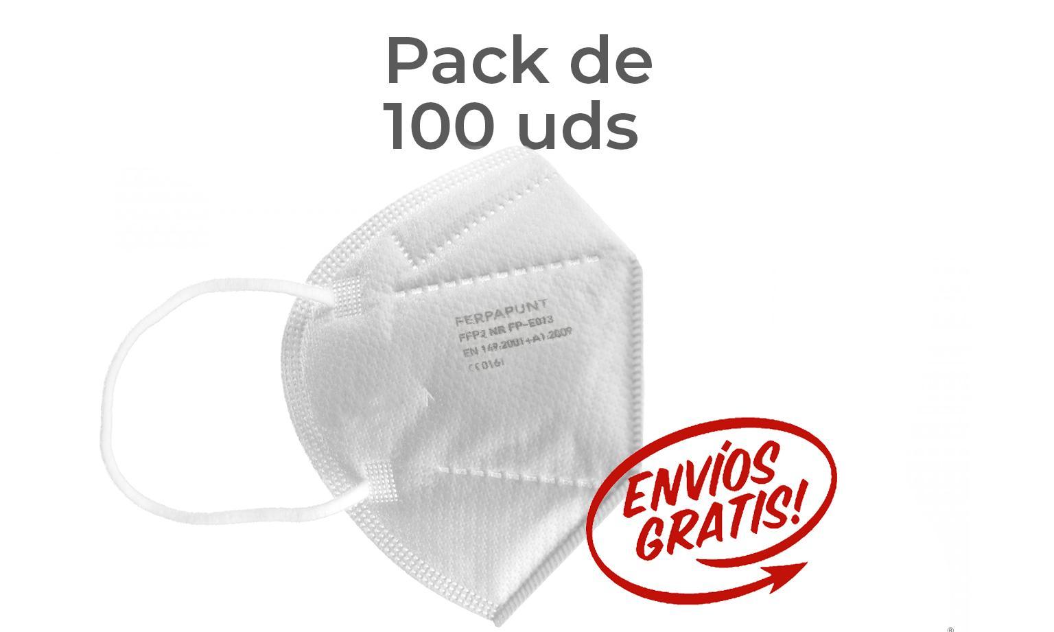 FFP2 NR Ferpa Punt Pack 100 *PORTES GRATIS*