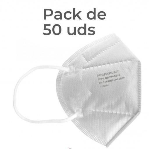 FFP2 NR Ferpa Punt Pack 50 + 1 Asepticae Textil [3]
