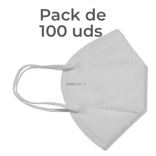 Pack 100 Airnatech Plus 99,90% BLANCA *PORTE GRATIS