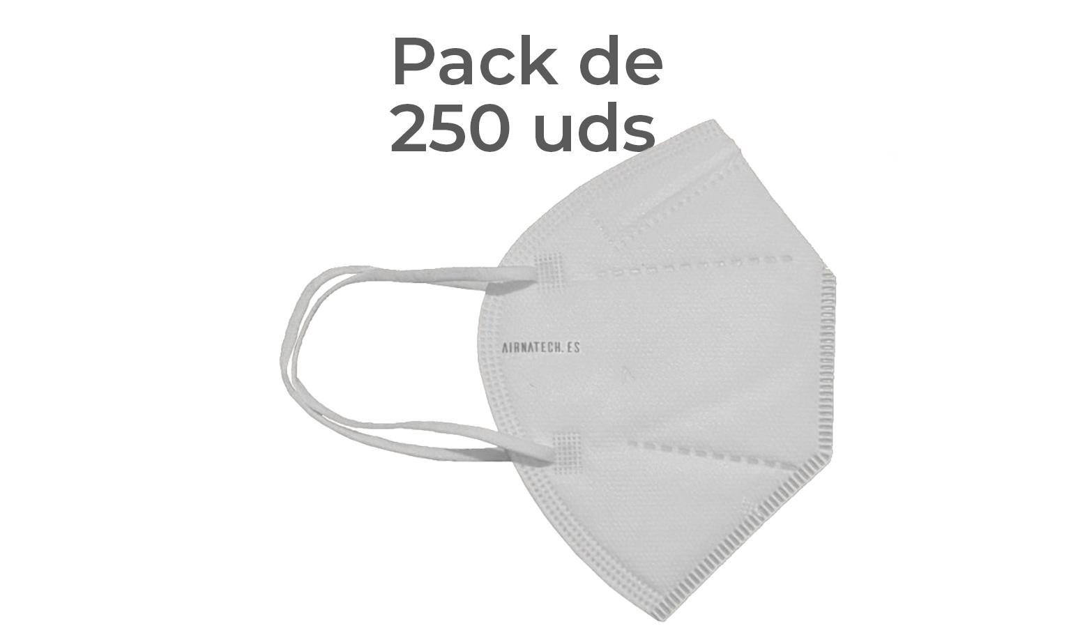 Pack 250 Airnatech Plus 99,90% BLANCA *PORTE GRATIS