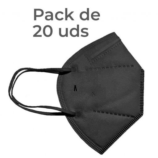 Pack 20 Airnatech Plus 99,90% NEGRA *PORTE GRATIS