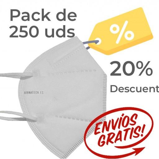 Pack 250 Airnatech Plus BLANCA *PORTE GRATIS