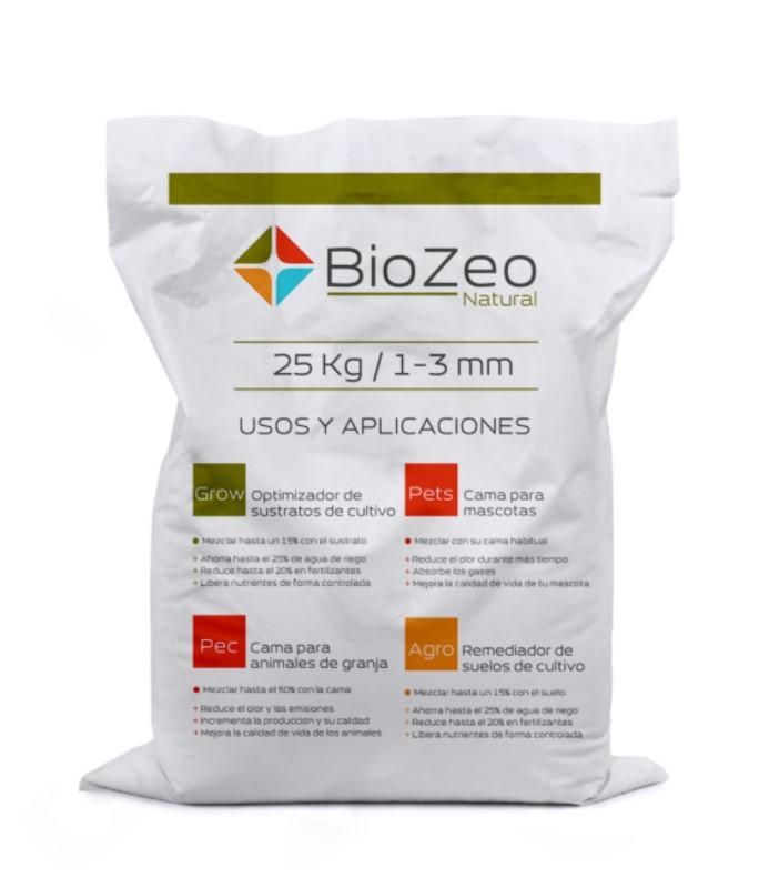 BioZeo NATURAL 1-3mm AGRO SUSTRATO ACTIVO