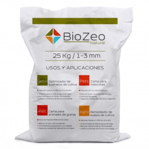 BioZeo NATURAL 1-3mm AGRO SUSTRATO ACTIVO
