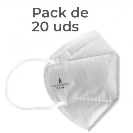 FFP2 NR Airnatech Pack 20