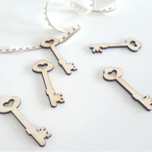 llaves de  madera