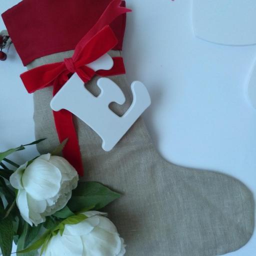 calcetín navidad [0]
