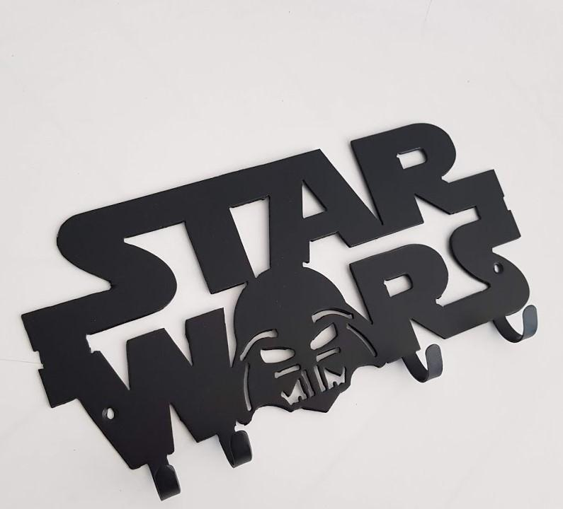 colgador llaves star wars