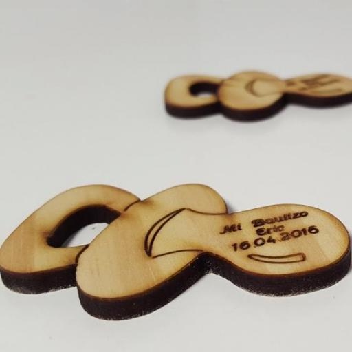 chupete madera personalizado