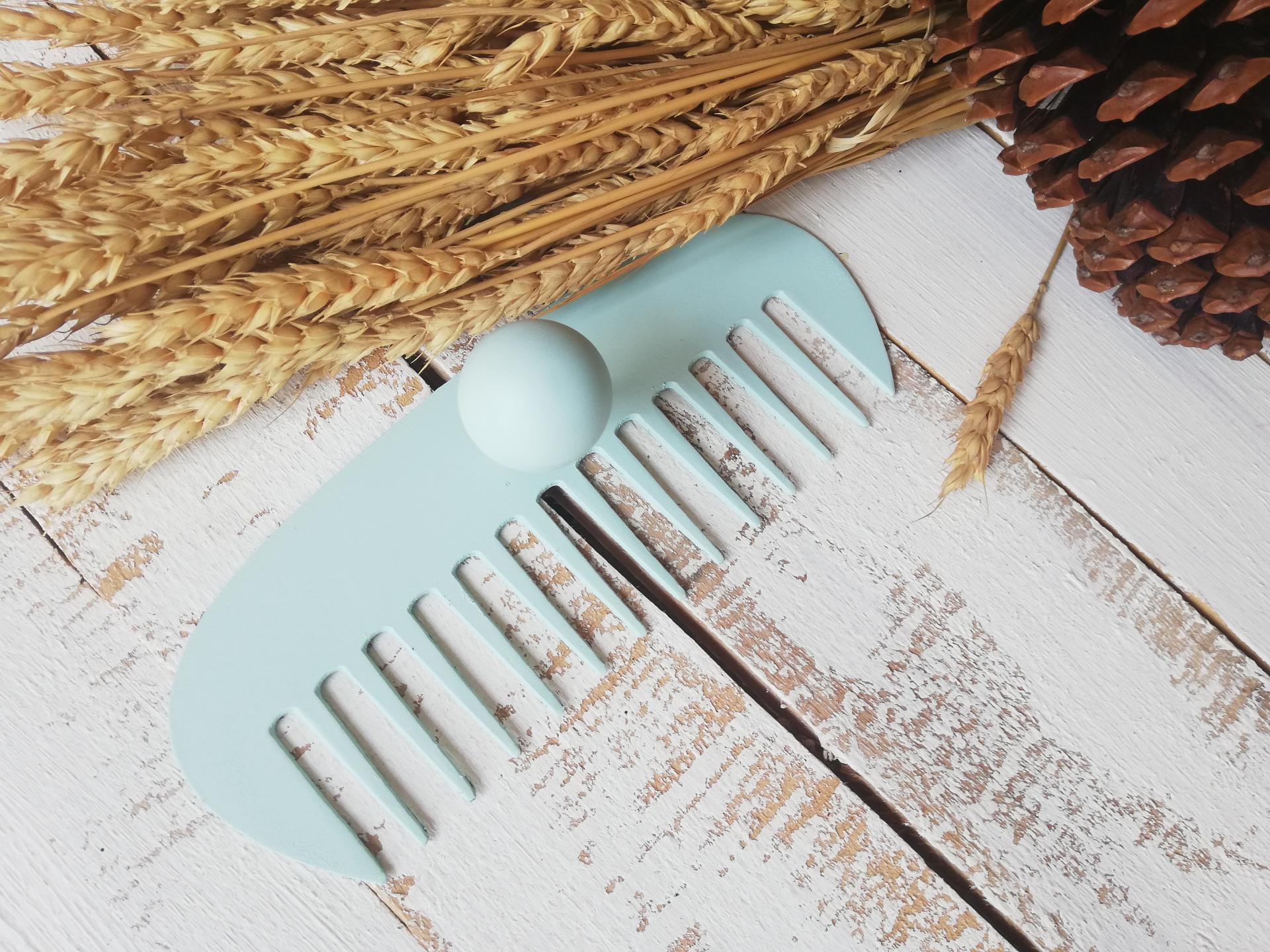 colgador hierro tijeras o peine