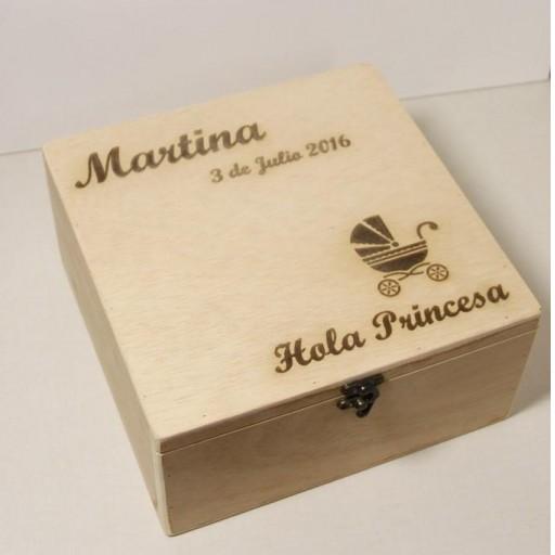 caja madera nacimiento