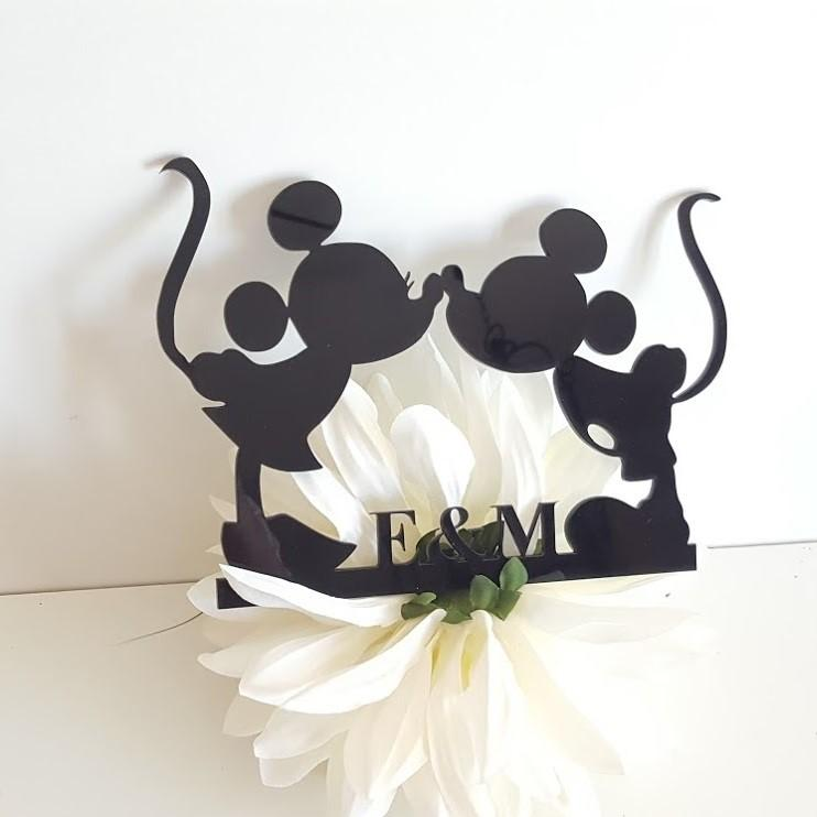 cake topper Mickey & Minnie