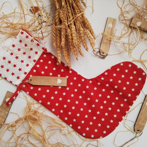calcetín Navidad tela a elegir