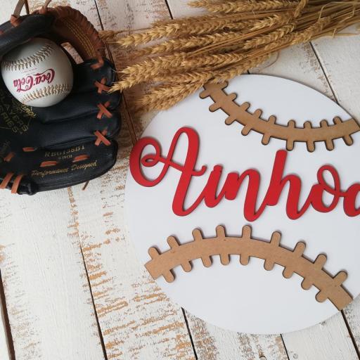 cartel pelota  béisbol