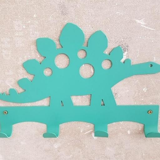colgador  dinosaurio