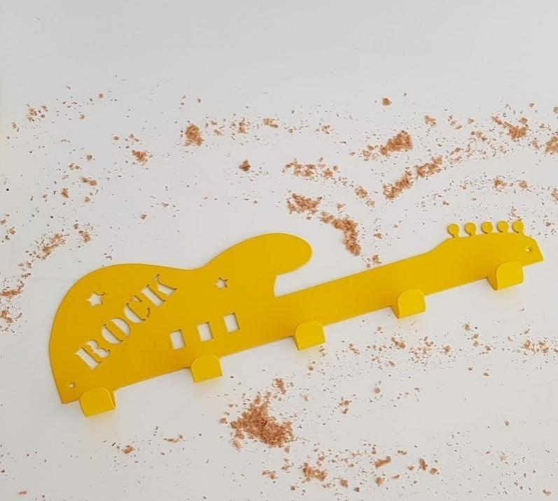 colgador guitarra eléctrica