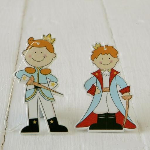 colgante madera principe o princesa