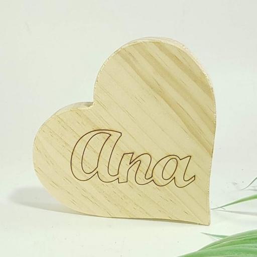 corazón con nombre