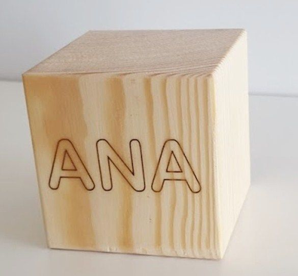 Cubo con nombre