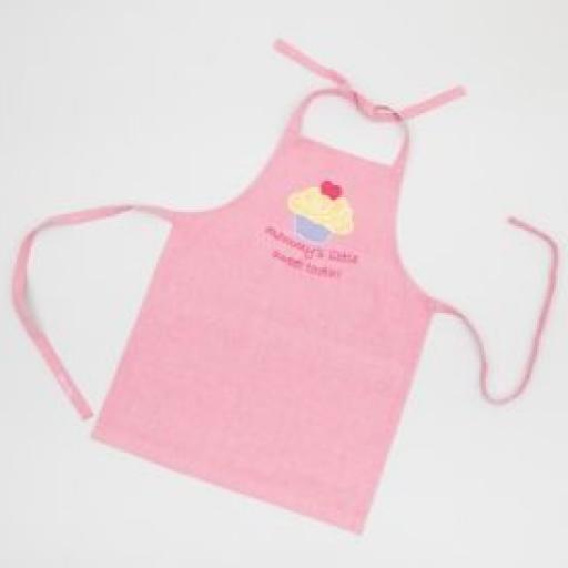 delantal cupcakes rosa [1]