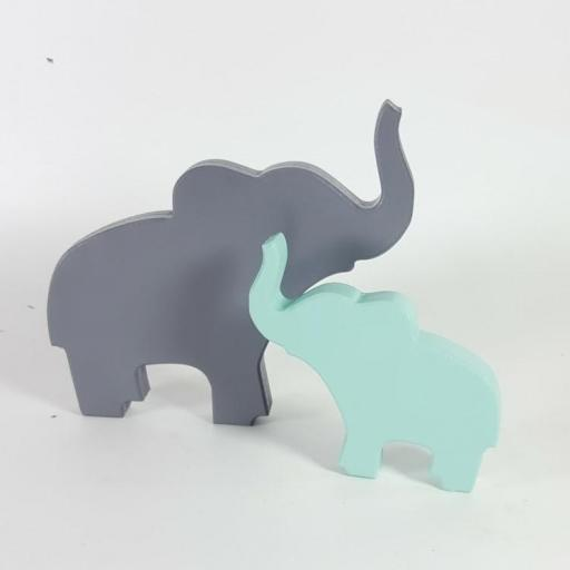 elefante madera