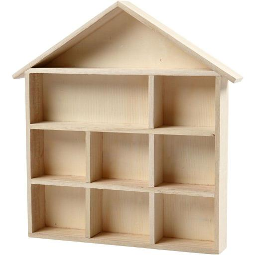 estantería casita madera [1]