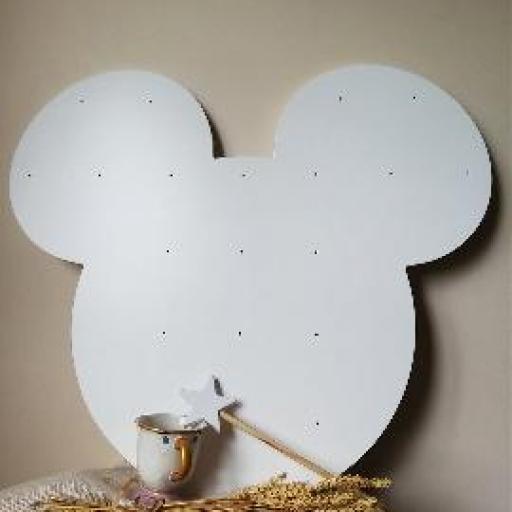 estantería tazas Mickey