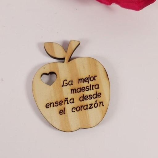 etiqueta manzana personalizada