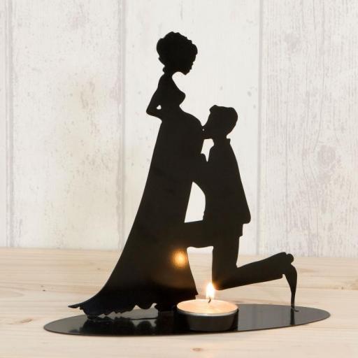topper tarta boda embarazada