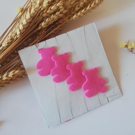 guirnalda fieltro ositos rosa